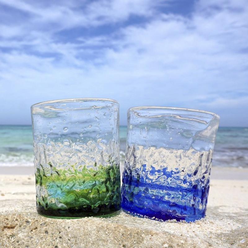 島のグラス
